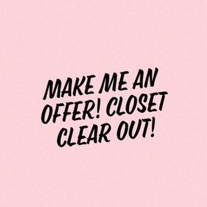 Closet Clear Out !